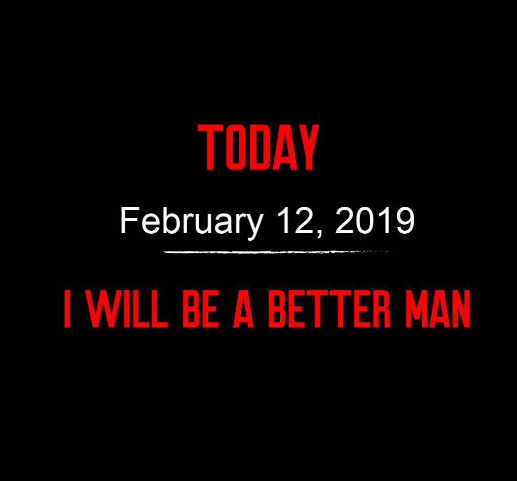 better man 2-12-19