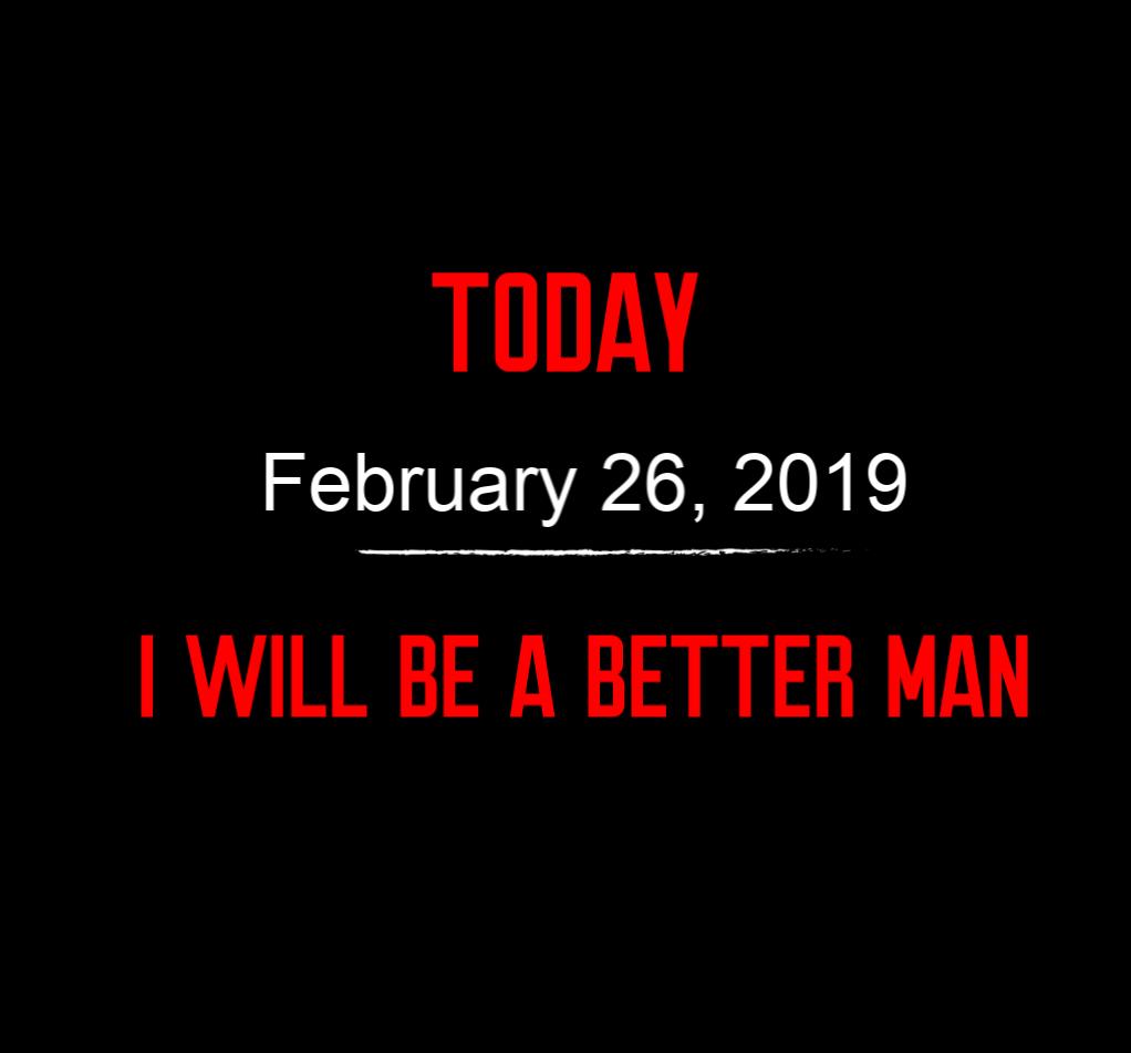 better man 2-26-19