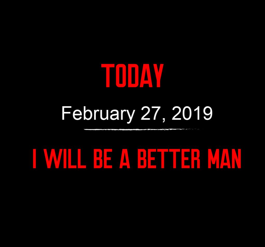 better man 2-27-19