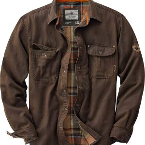 Rugged Journeyman Flannel Lined Shirt Jacket