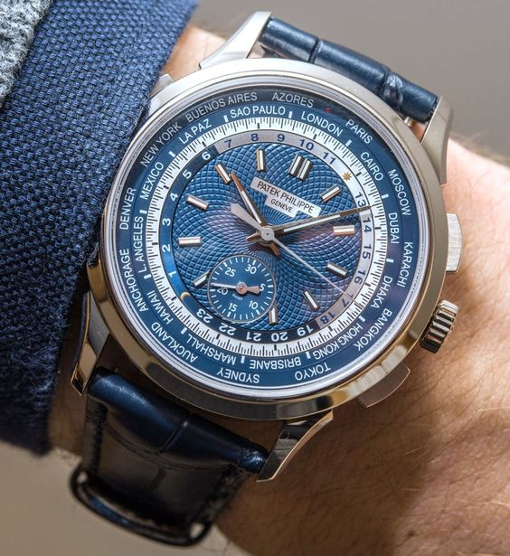 Patek Philippe 5930G Chronograph World Time Watch