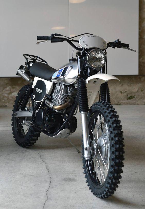 fully restored XT 500