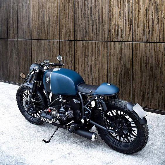beefy blue bmw street bike