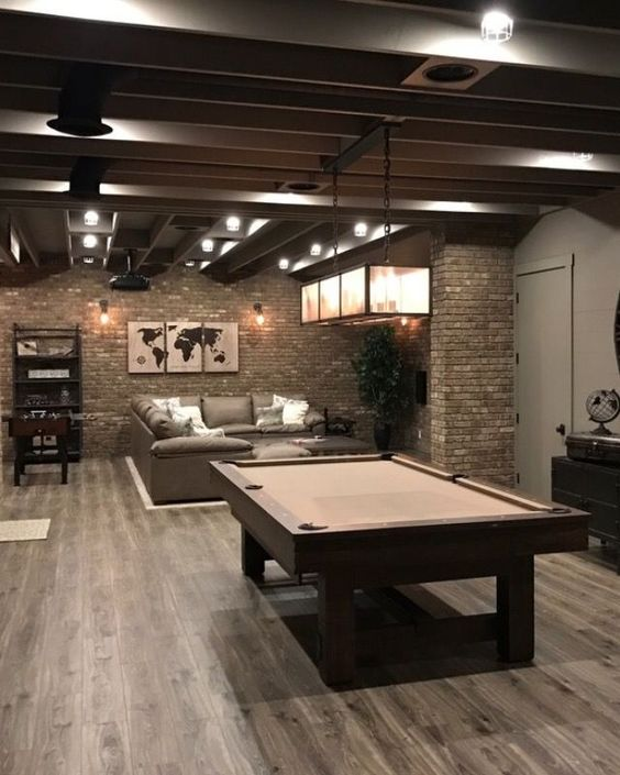 classy game room