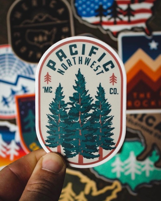 pacific northwest decal