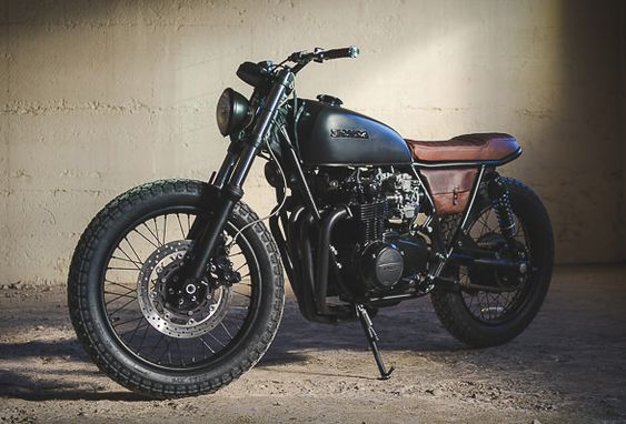 Fade To Black - Federal Moto Honda Cb550