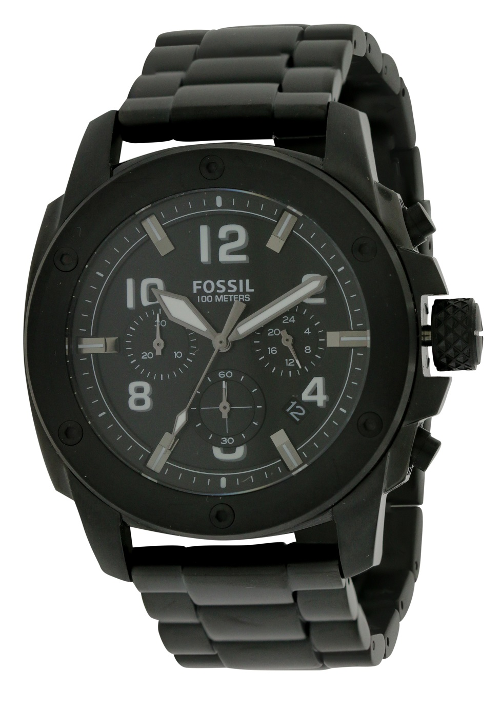 Fossil Machine Black Mens Watch FS4927