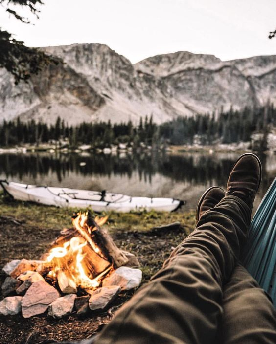 a manly life outdoors provides inspiration