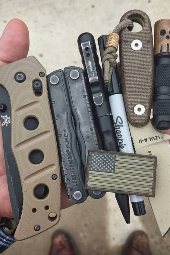 army green theme edc