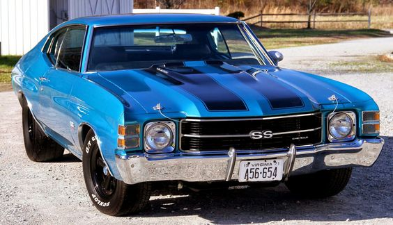 blue chevelle ss