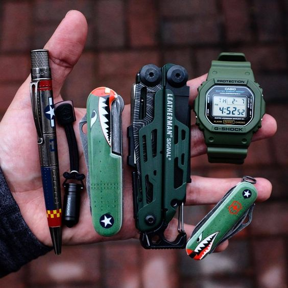unique green tone edc