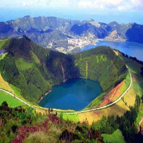 Lake of Fire, Sao Miguel Island, Azzore