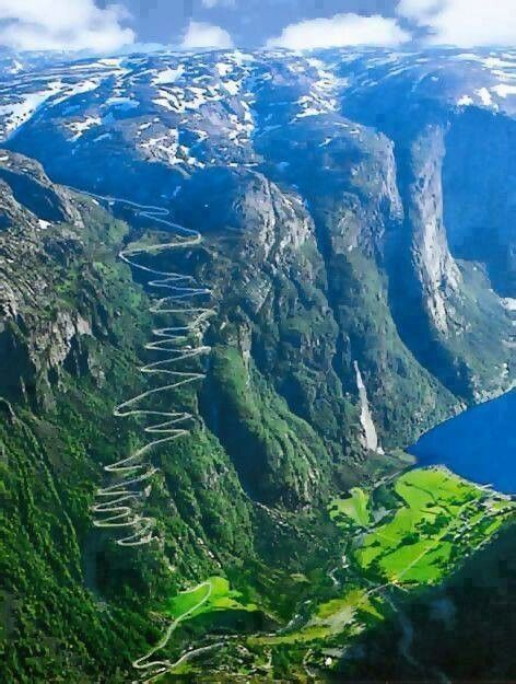 Norway road