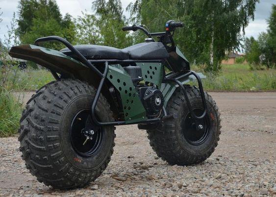 Rugged TARUS 2×2 Motorcycle