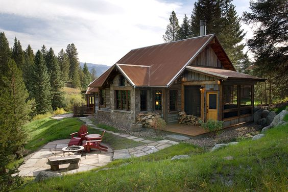 perfect summer home in the country