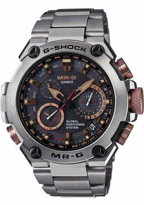 G-Shock MR-G GPS Atomic Solar Hybrid Mens Watch