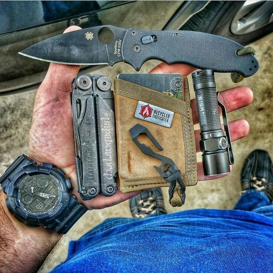 a rugged pocket dump