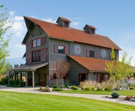 barn inspired home