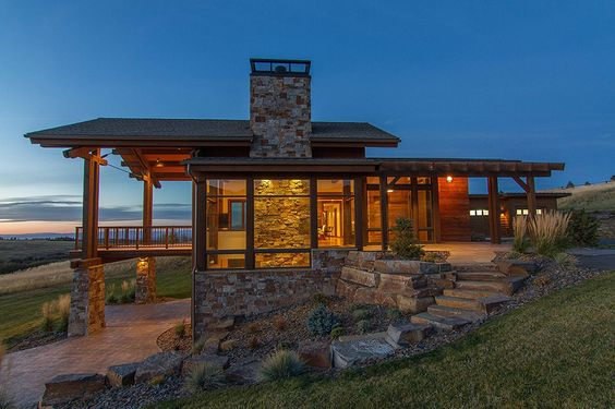 big sky country home