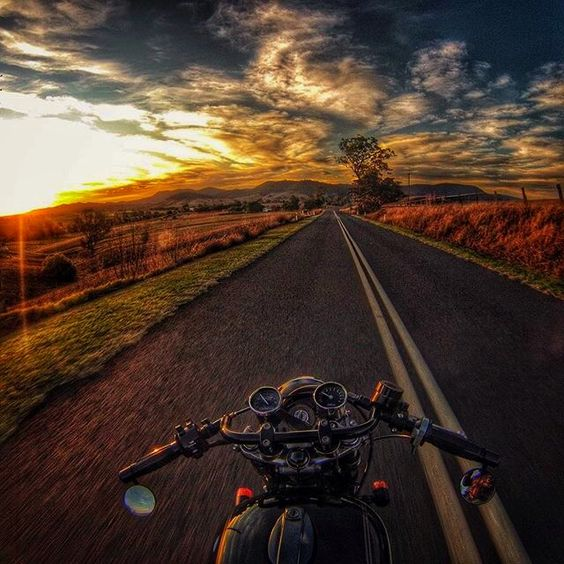 country road motorcycle