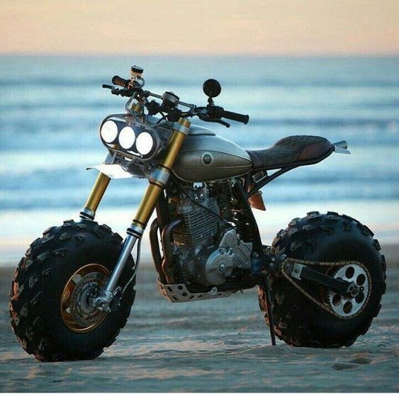 fat tire sand buggy motorcycle