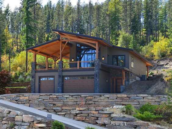 modern yet rustic home design