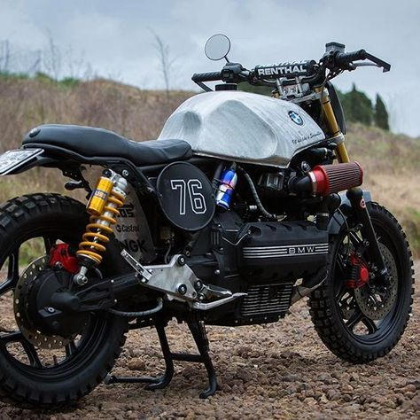 rugged off road bmw motorcycle