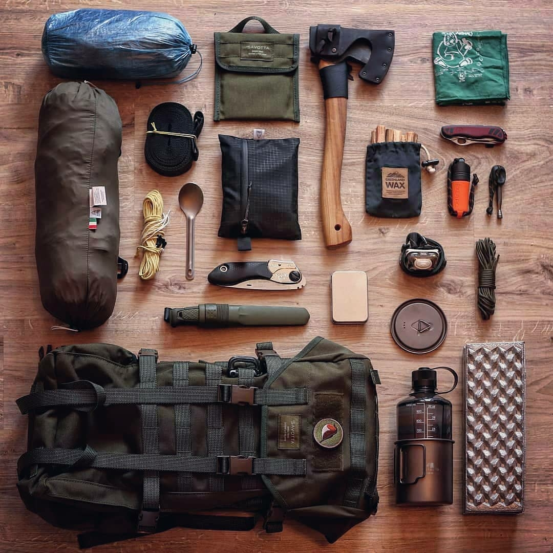 complete camping gear