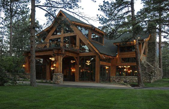 Texas Timber Frame Home