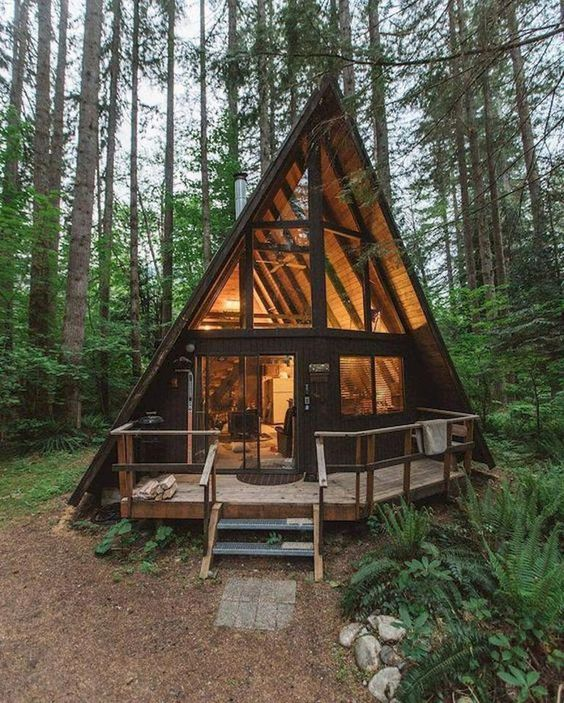 a-frame cabin home