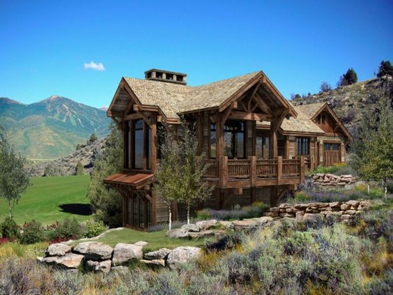 luxury cabin home