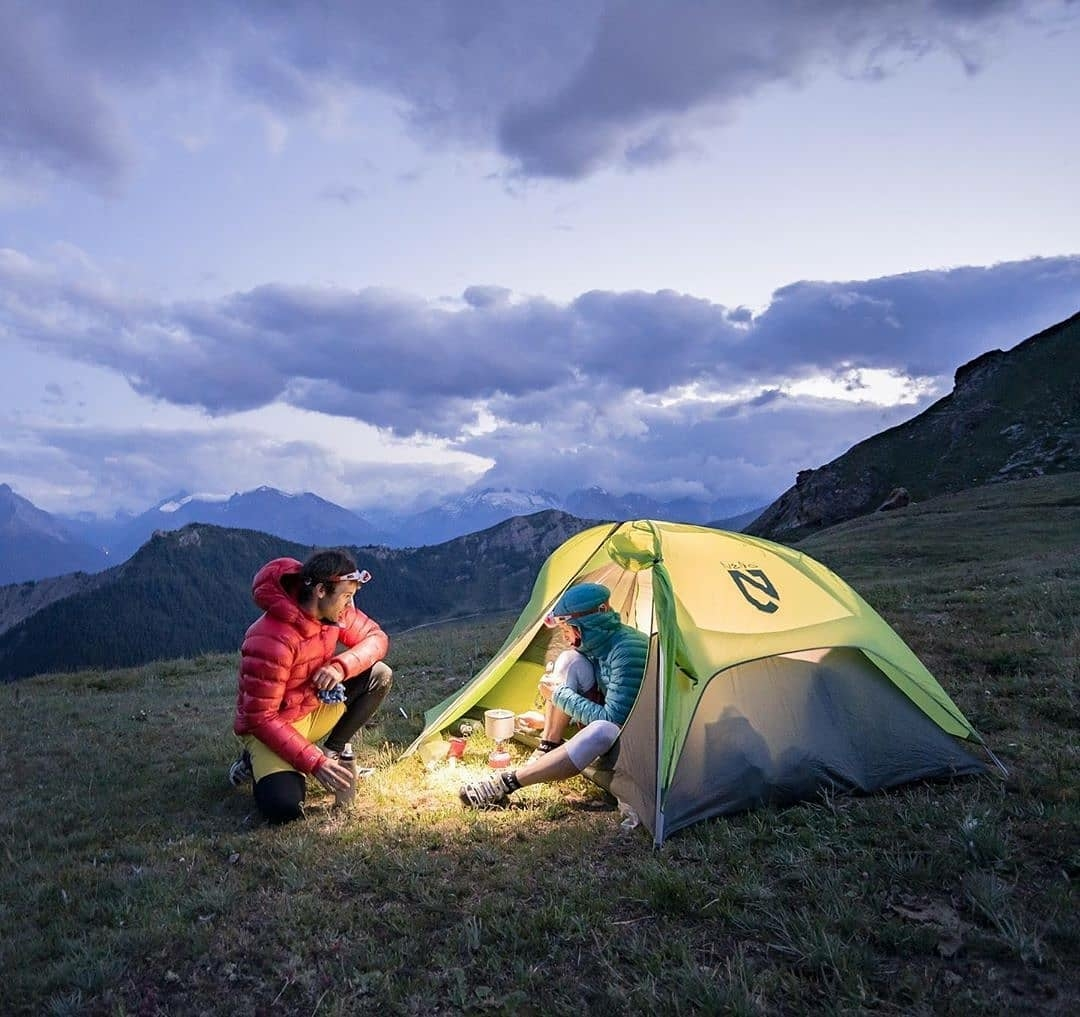 high country camping