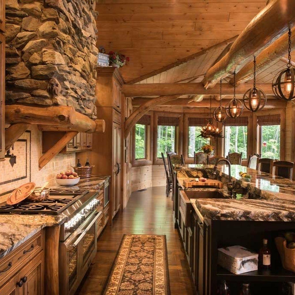 South Carolina Log Home interior_3
