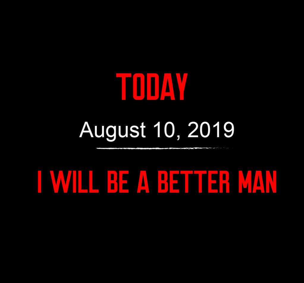 better man 8-10-19