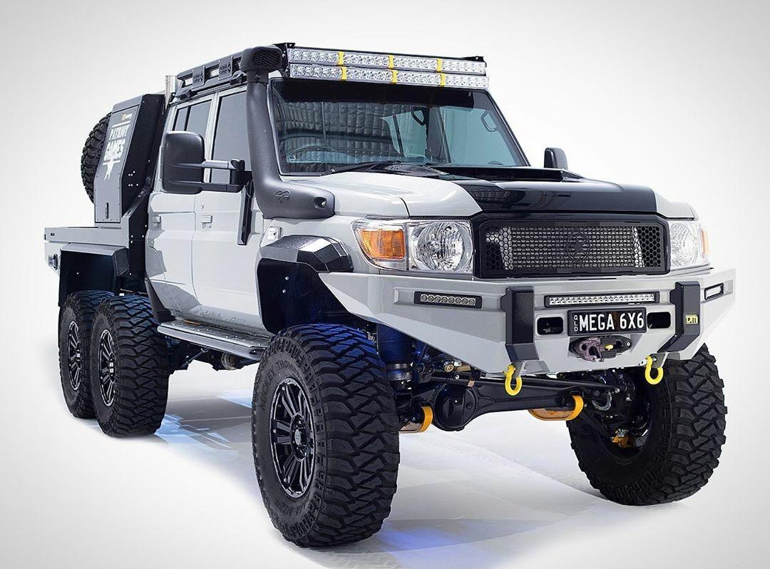mega 6x6 truck