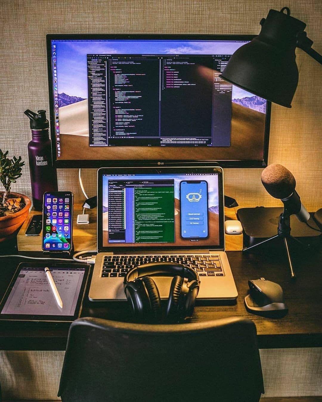 Nice squared away workspace