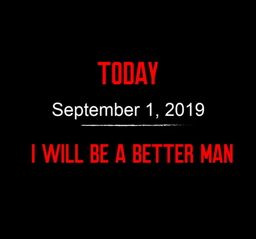 better man 9-1-19