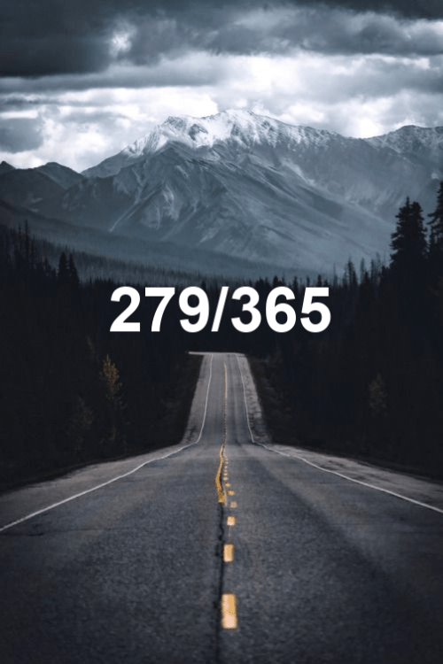 today is day 279 of the year 2019