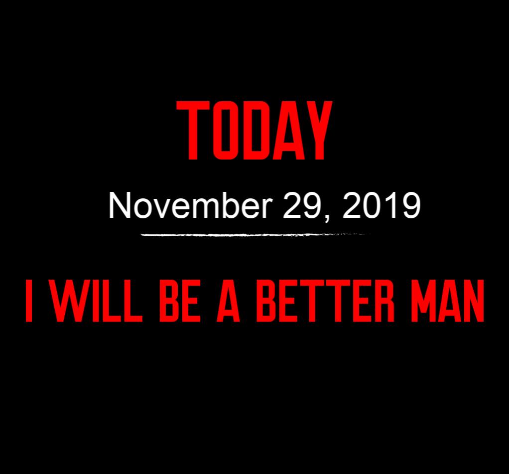 better man 11-29-19
