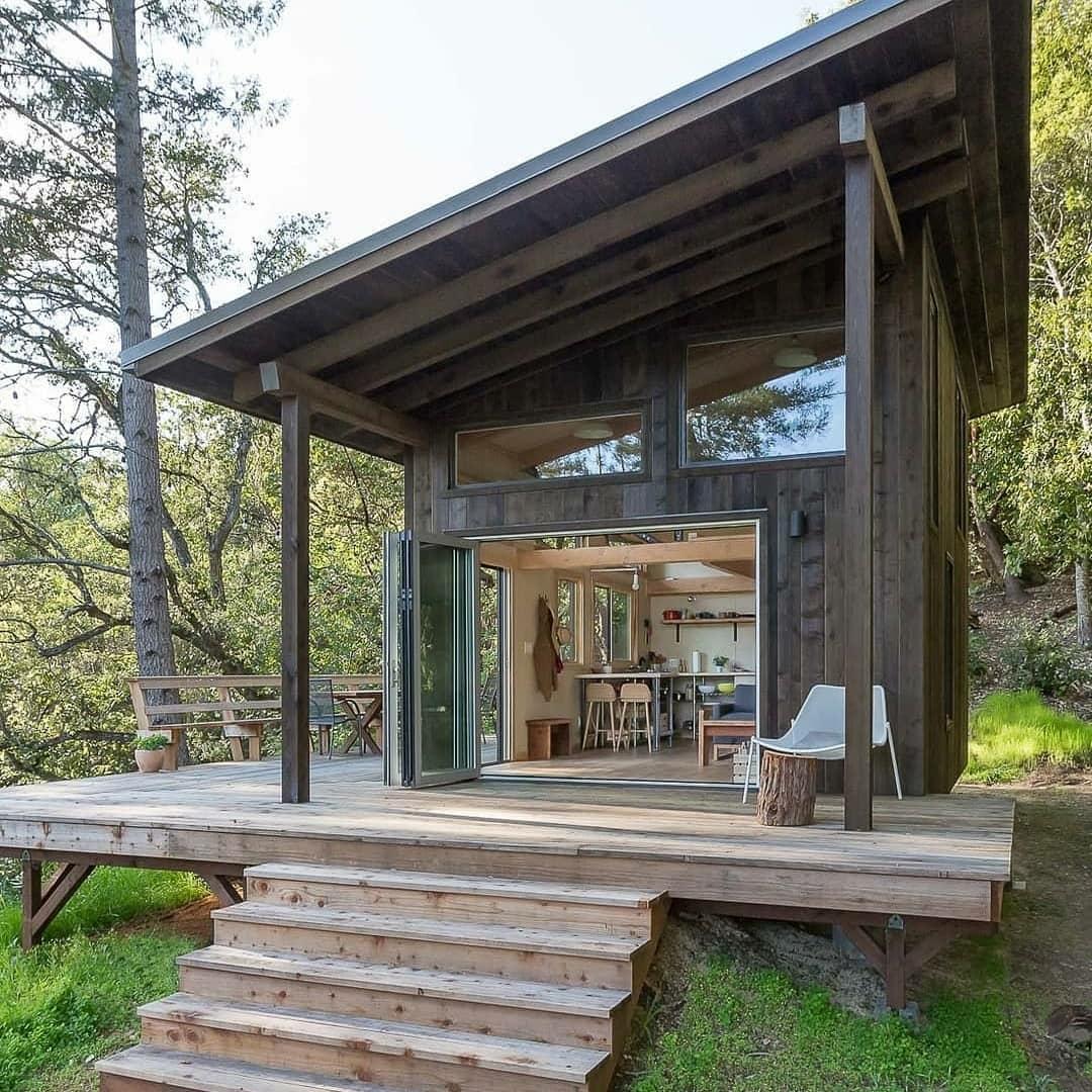 off-grid cabin