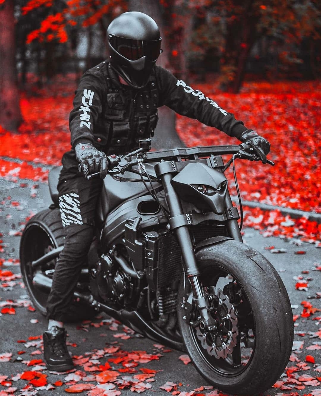 the manly life - mean looking motorcycle
