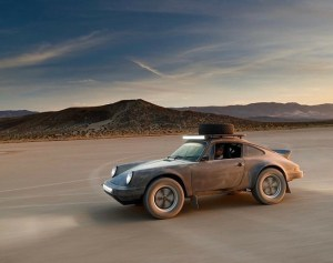 the manly life - dirt track porsche