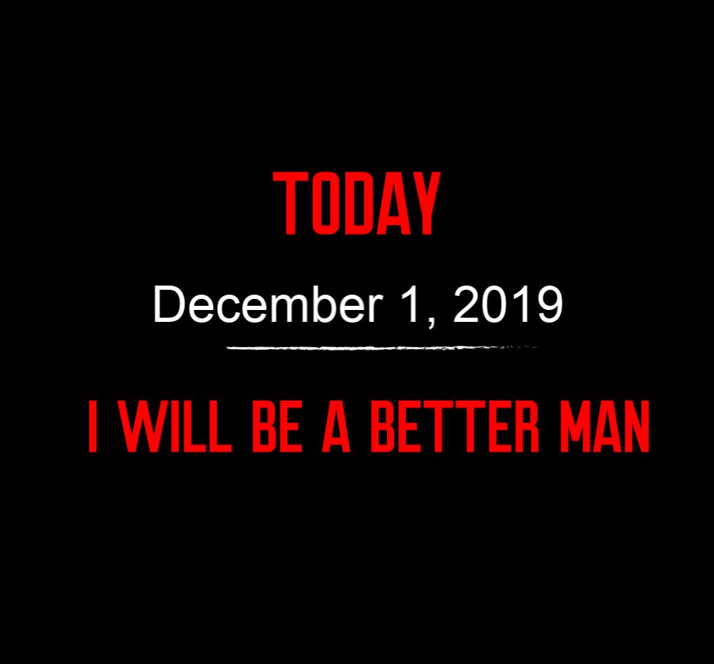 better man 12-1-19