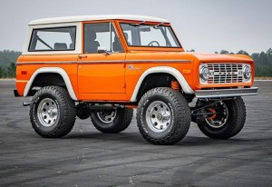 the manly life- Classic Ford Bronco