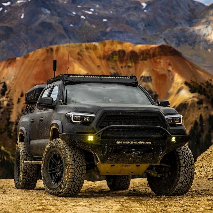 rugged black tacoma
