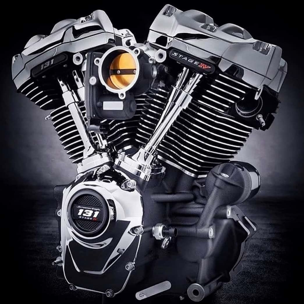 131ci Milwaukee Eight straight from Harley-Davidson