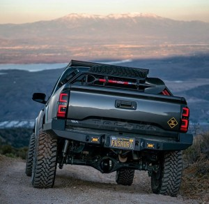 the manly life - rear end of toyota tacoma