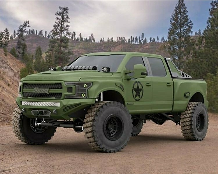 army green super duty