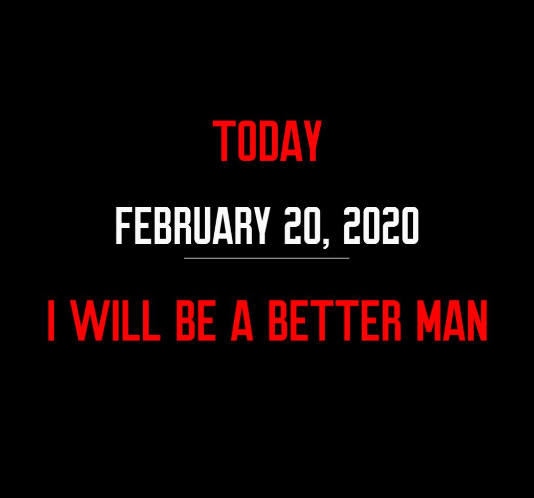 better man 2-20-20