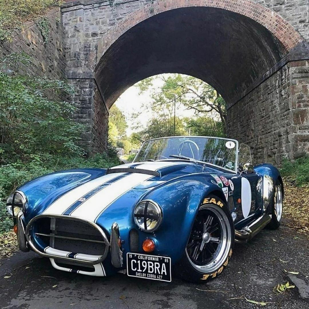 blue shelby cobra 427